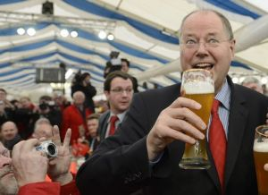 GERMANY-POLITICS-ASH-WEDNESDAY-SPD-STEINBRUECK